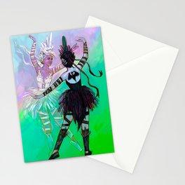 Illustration ; Widowmaker ; Odette & Odile Stationery Cards