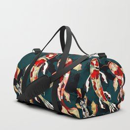 Metallic Koi Duffle Bag