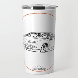 Crazy Car Art 0216 Travel Mug