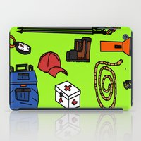 hiking iPad Cases featuring Hiking by Jonny Penn