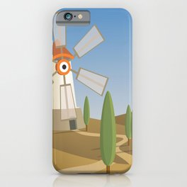 a quijote's glance iPhone Case