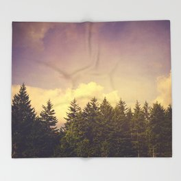 North Wilderness Throw Blanket