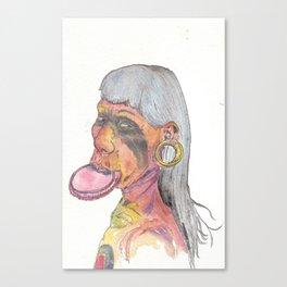 Kayapo Man Canvas Print