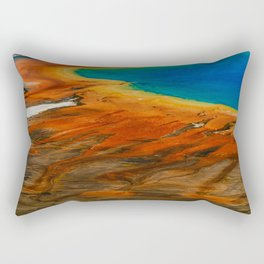 Grand Prismatic Lake Rectangular Pillow