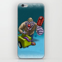 That weird guy by the corner... iPhone Skin