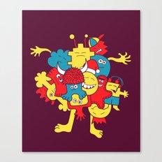 Mental¡FIESTA! Canvas Print
