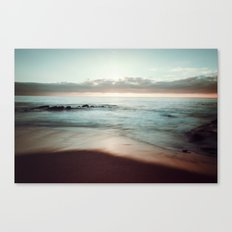 Lomo Waves Canvas Print