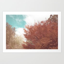 Beautiful Day in Autumn Art Print