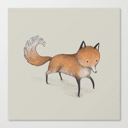 Little Fox Canvas Print