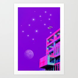 Gemini Constellation Art Print