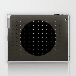 """""""Grey & Polka dots central circle pattern"""" Laptop & iPad Skin"""