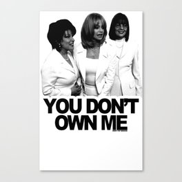 Are You A Member Of The First Wives Club? Canvas Print