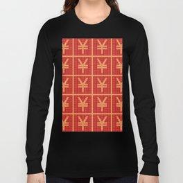 Lucky money RMB Long Sleeve T-shirt