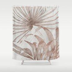 Tropical Plant Shower Curtain