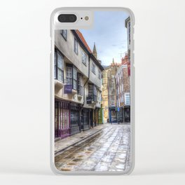 The Shambles York Clear iPhone Case