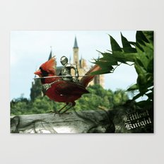 The Littlest Knight Canvas Print