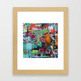 The Secret Garden - Daisy Patch Framed Art Print