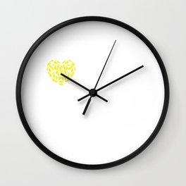 I Heart Cockatiels | Love Cockatiel Bird Breeds Wall Clock