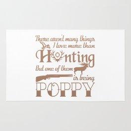 Hunting Poppy Rug