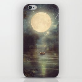 I Wish You Love Me Forever iPhone Skin
