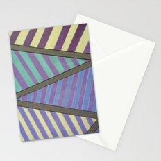 Zig Zag run Stationery Cards