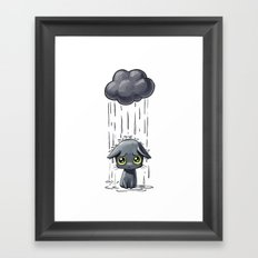 Pouring Framed Art Print
