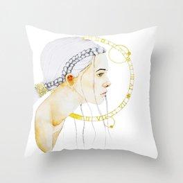 Tempus Throw Pillow