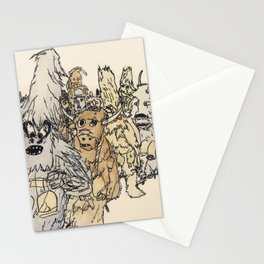 Koukeri (Mummers) Stationery Cards