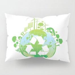 Green Planet Pillow Sham