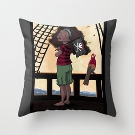 Yarr Throw Pillow