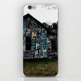 Abandoned house iPhone Skin