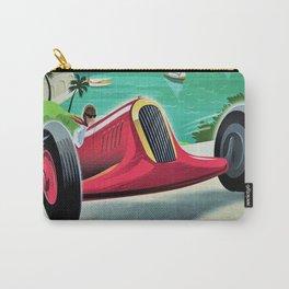 Vintage Monaco 7th Grand Prix Automobile Race 22 April 1935 Advertisement Poster Carry-All Pouch