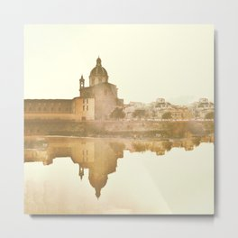 Florence Reflected Metal Print