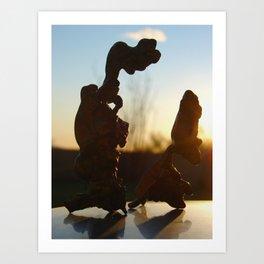 Papo Art Print