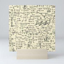 Physics Equations // Parchment Mini Art Print