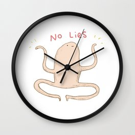 Honest Blob - No Lies Wall Clock