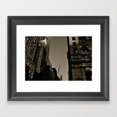 Vintage 42nd St. Framed Art Print