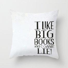 Big Books Throw Pillow