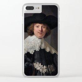 Marten Soolmans (Wedding Portait) Clear iPhone Case
