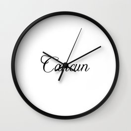 Cancun Wall Clock