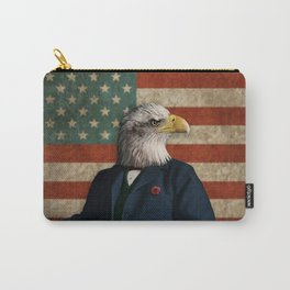 Official Portrait of Senator Silas Eagle Carry-All Pouch