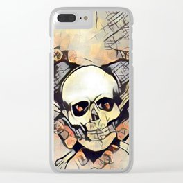 Love & death 2 Clear iPhone Case