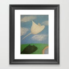 Stingray Framed Art Print