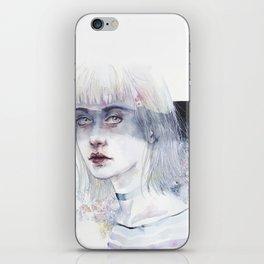 Blindfolded Goddess iPhone Skin