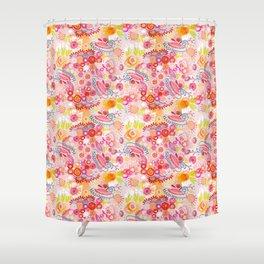 Vibrant summer Shower Curtain