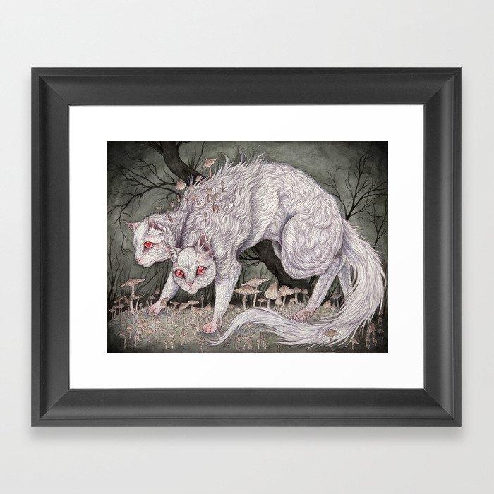 Albinism piece  Framed Art Print