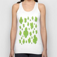 clover Tank Tops featuring Clover by Trip79