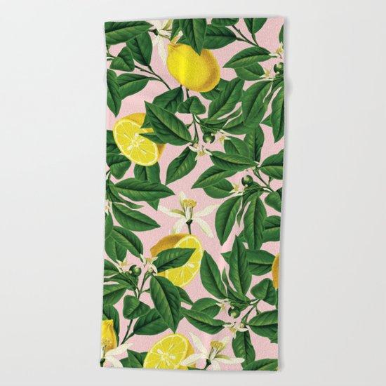 Lemonade #society6 #decor #buyart Beach Towel