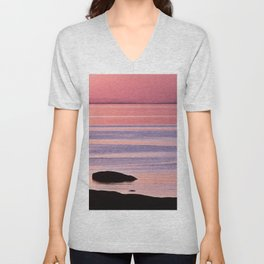 Lines in the Sea Unisex V-Neck