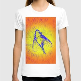 neon fly T-shirt
